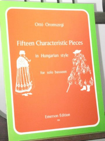 Oromszegi O - Fifteen Characteristic Pieces in Hungarian Style